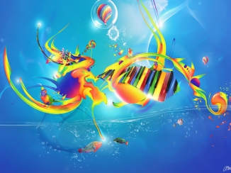 colorful-music-notes-clipart-wallpaper-1